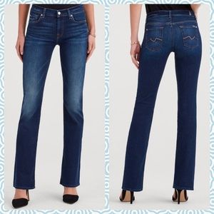 7 for all mankind Bootcut jeans size 27 EUC